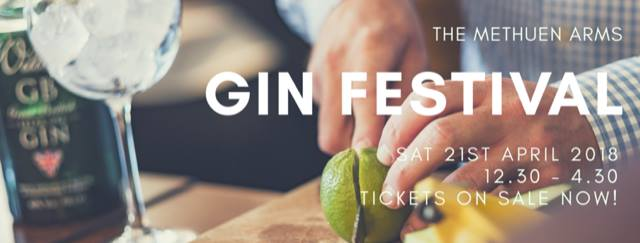 Gin Festival at the Methuen Arms