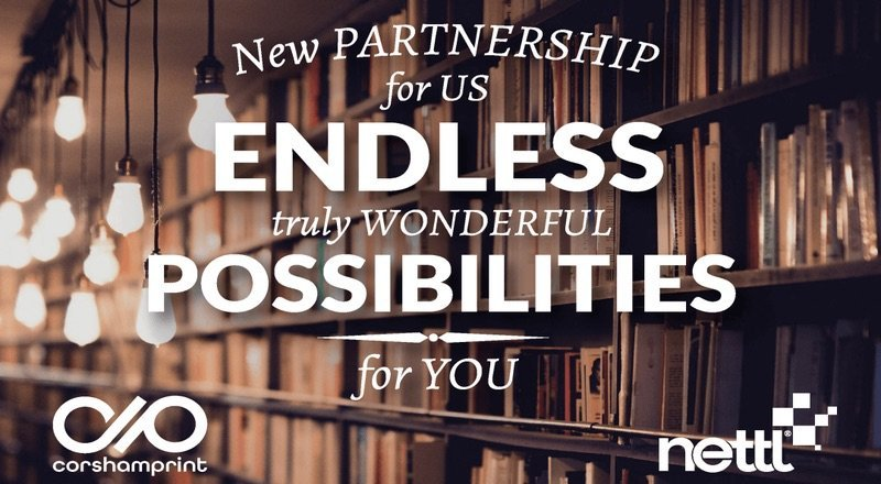 Corsham Print – New partnership for us endless, truly wonderful possibilities for you